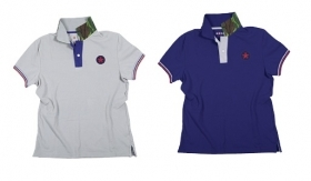 Polo Star in 100% cotone Piquet con interno colletto mimetico