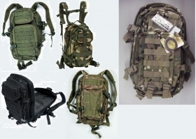 Zaino molle da assalto in Nylon LT 20