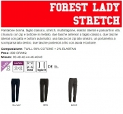 Pantalone FOREST LADY STRETCH donna, taglio classico, stretch