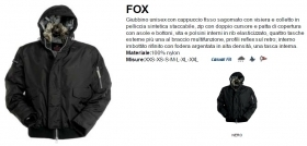 Giubbino FOX nylon shiny