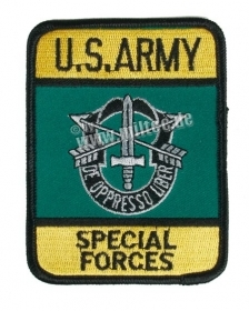 Patch toppa ricamata U.S.ARMY Special Forces