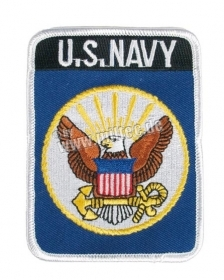 Patch toppa ricamata U.S. NAVY