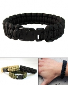 Bracciale Paracord da 22 mm con fibbie in Nylon