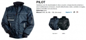 Giubbino PILOT PLUS in Nylon impermeabile
