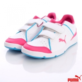 Scarpetta Puma Kids Steplfeex SL V Kids White-Beetroot purple TG 24