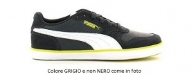 Scarpetta Puma Junior Icra Trainer Suede Vulc Dark Shadow-White-Sulphur TG 36