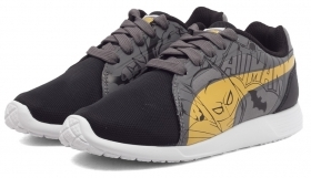 Scarpetta Puma Kids ST Trainer Evo Batman PS Black-Dandelion-Steel Gray TG 33