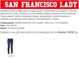 Pantalone SAN FRANCISCO LADY d