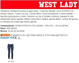 Pantalone WEST LADY multitasch